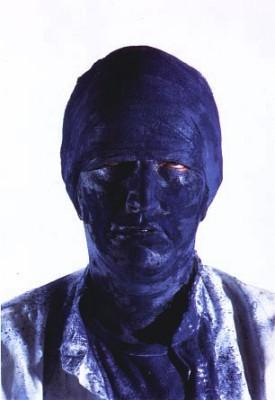 One-man show at Hokkaido's Petersburg Museum, 1996